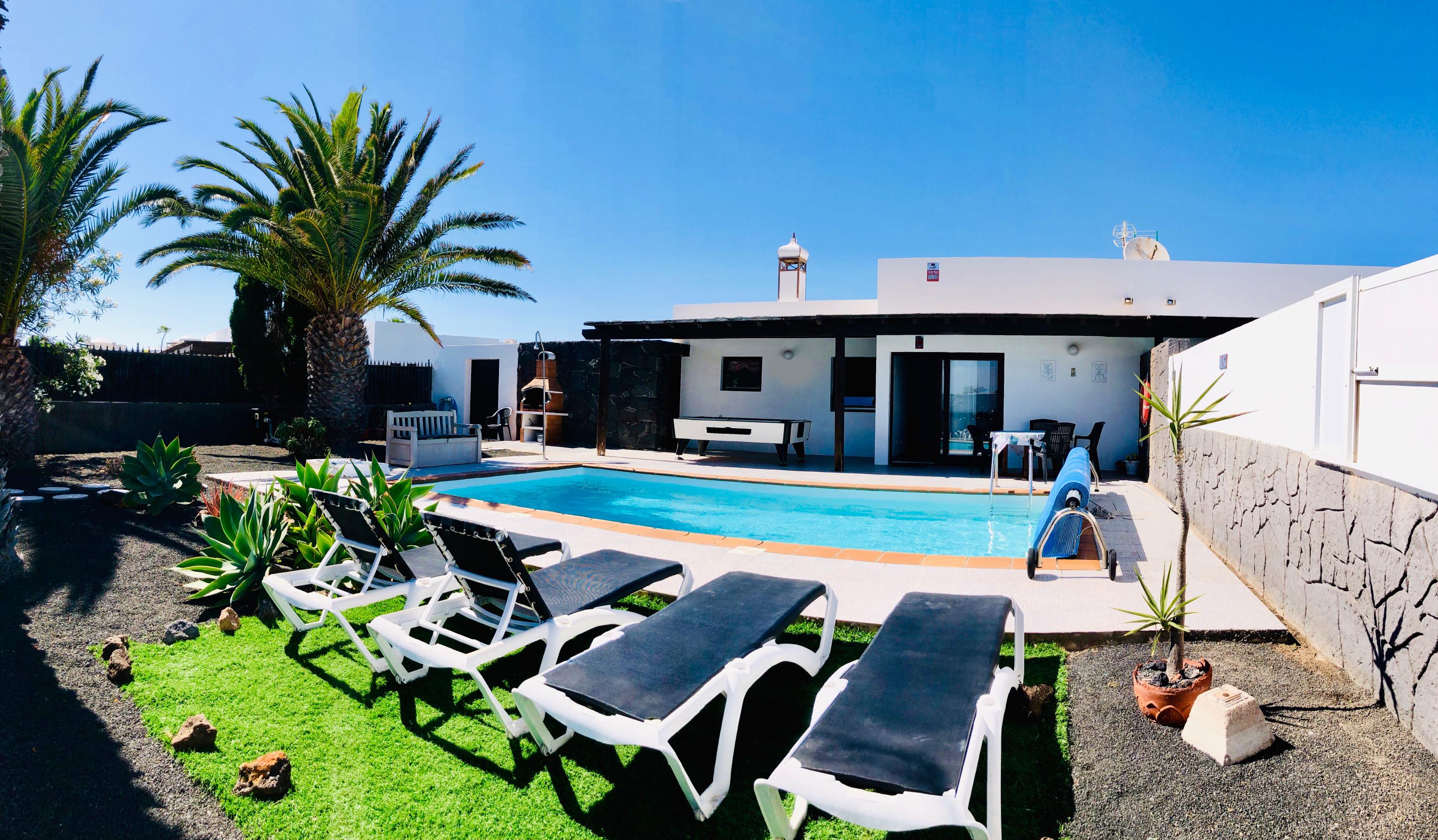 Villa Descansa mit Privatpool, Meerblick, Sat-tv f Villa  Lanzarote