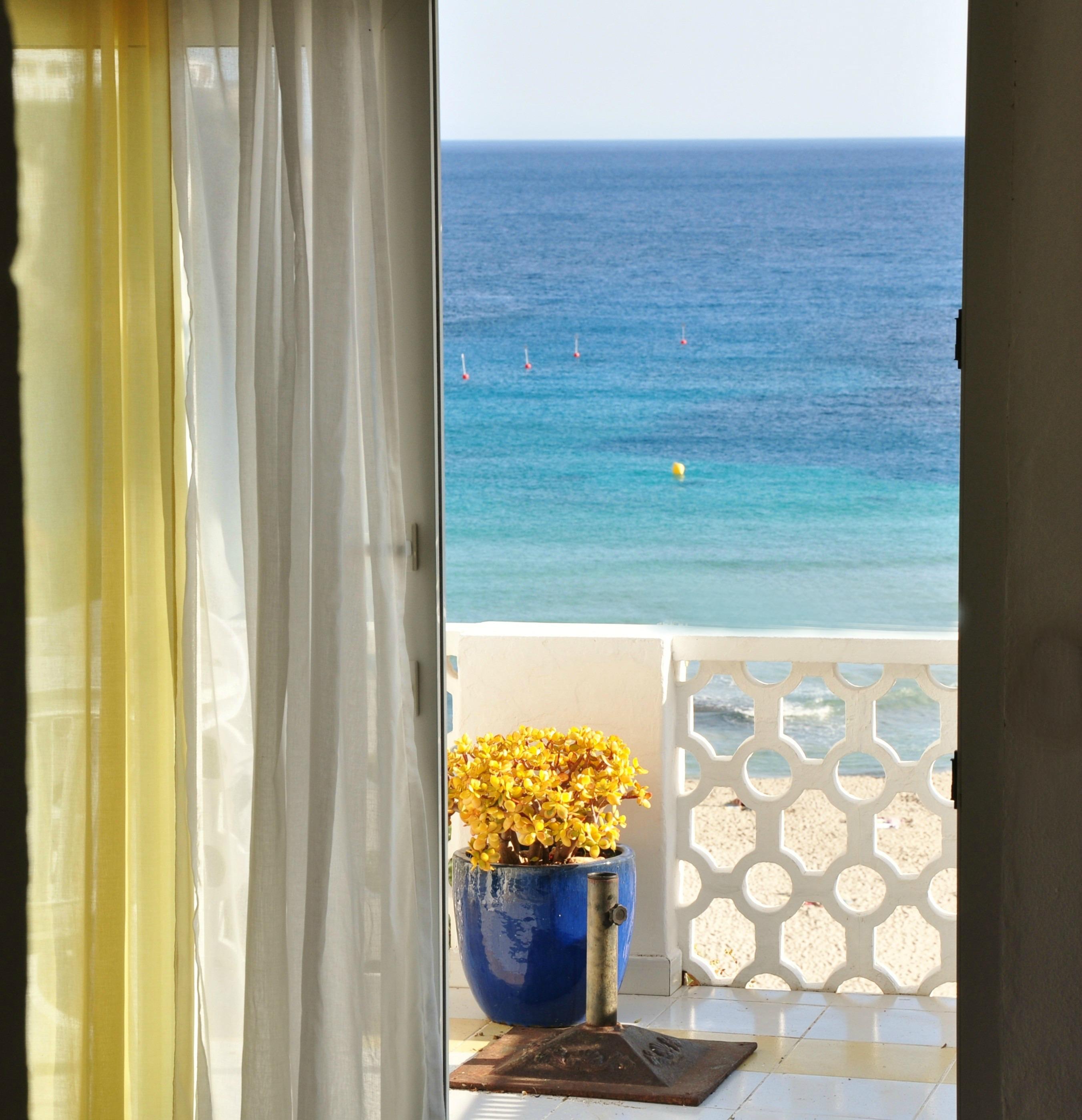 Wohnung mit Terrasse mit Blick auf das Meer herrlicher Blick auf das Mittelmeer Wi Fi