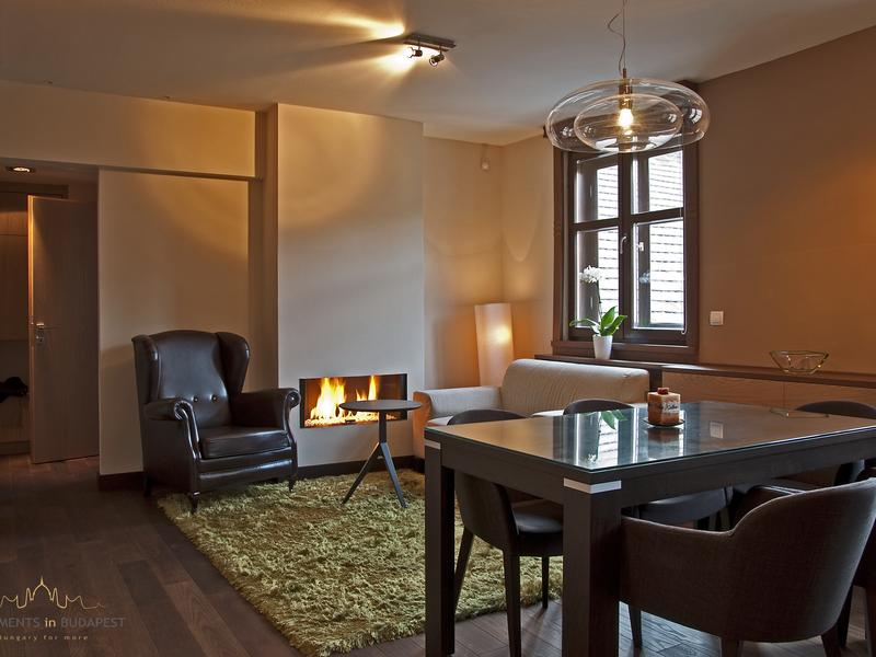 Andrassy2 Apartment - fireplace, A/c, free Wifi, city centre
