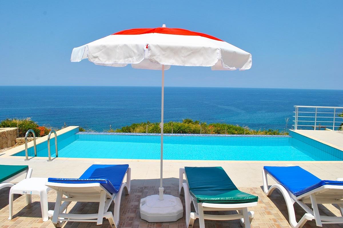 Blue Ocean Villa, 3 Schlafzimmer Villa mit privatem Pool, Wifi Internet World Tv