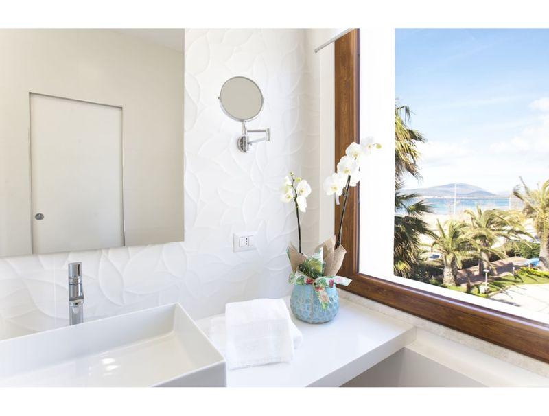 Alghero, Appartamento Pleiadi per 5 persone vista mare