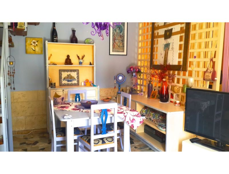 Alghero, Fairy House pretty with garden for 4 people (2 adults and 2 children)