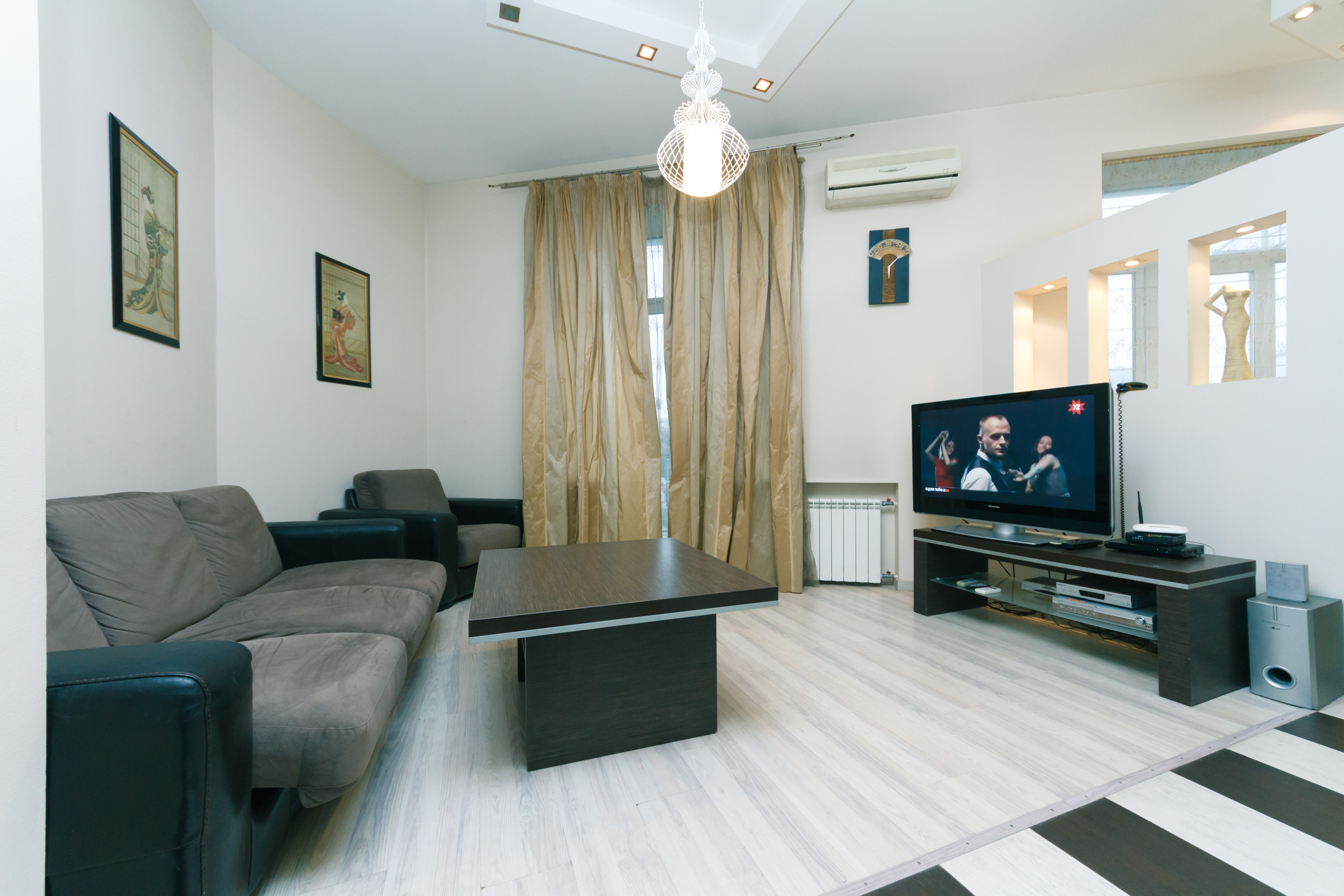 Ein Schlafzimmer Luxe 29Kreschatyk Zentrum von Kiew