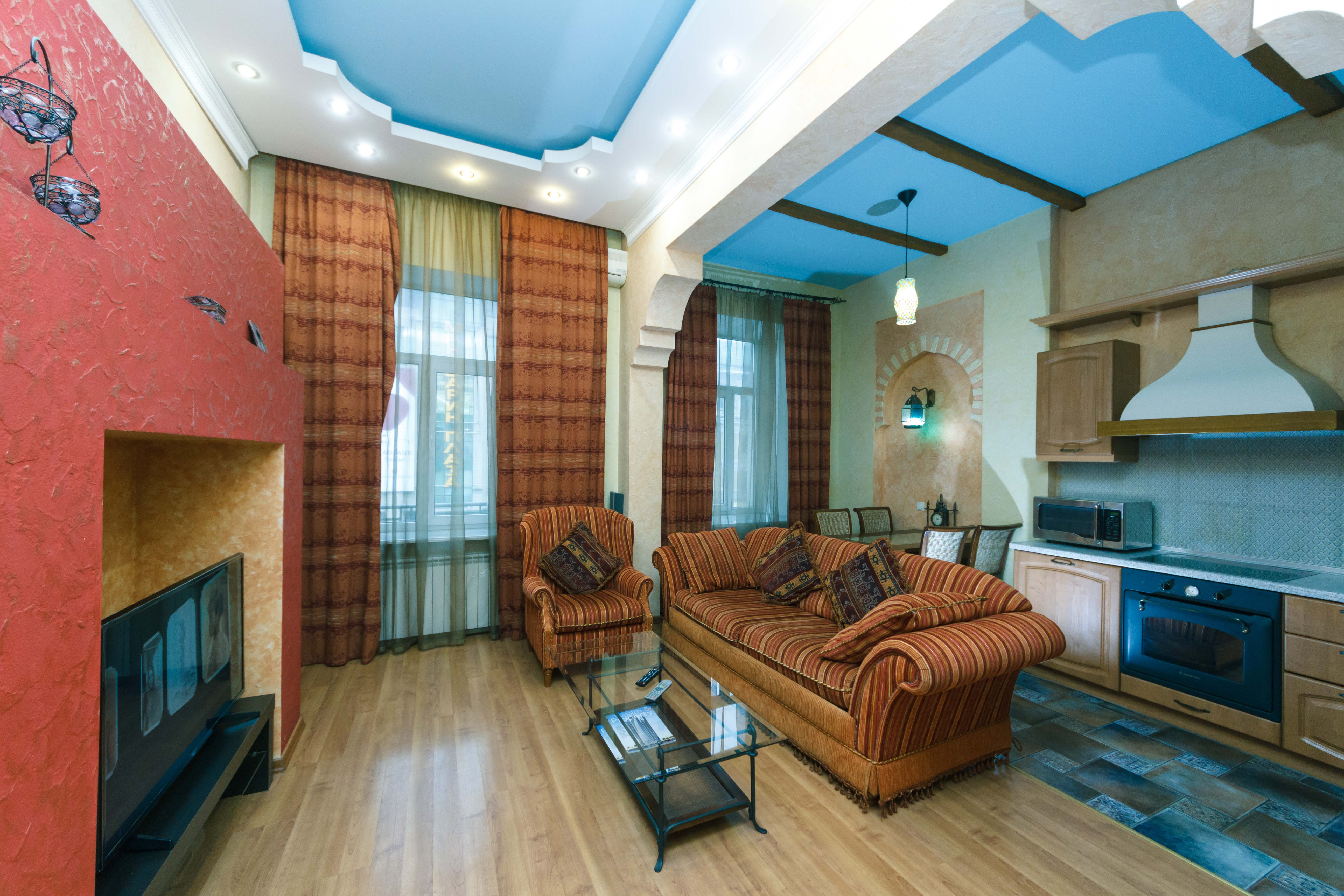 Ein Schlafzimmer Luxe 5a Baseina str Zentrum von Kiew