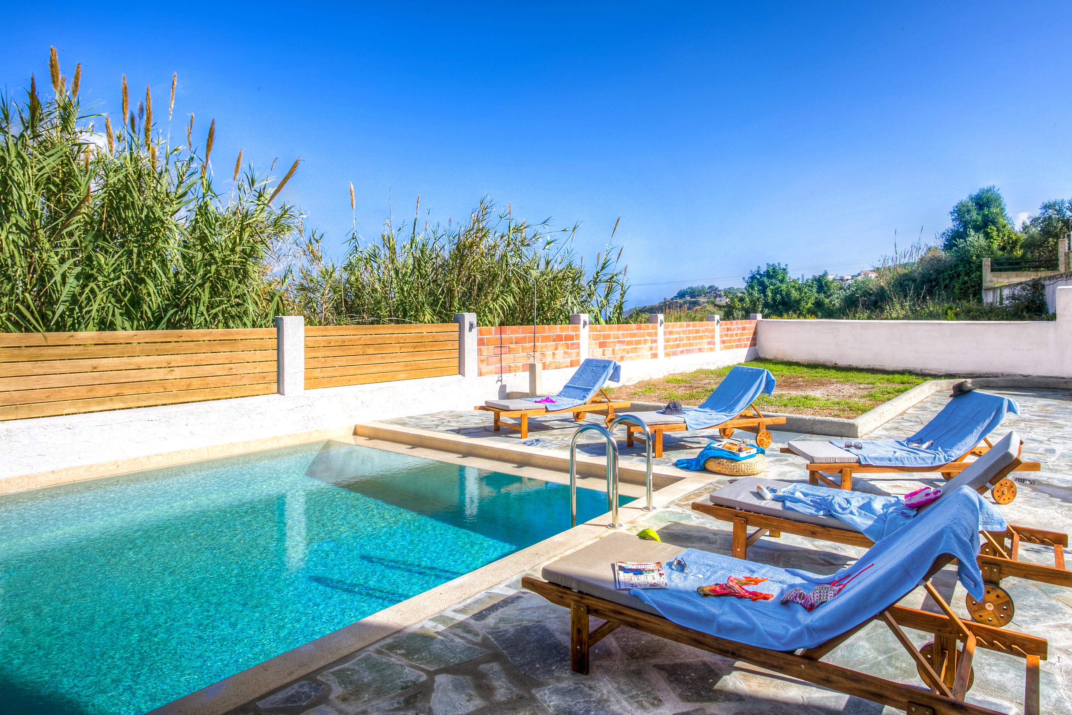 Ferienhaus Villa Katina mit privatem Pool in der Nhe von Almyrida (2125138), Neon Khorion Kriti, Kreta Nordküste, Kreta, Griechenland, Bild 8