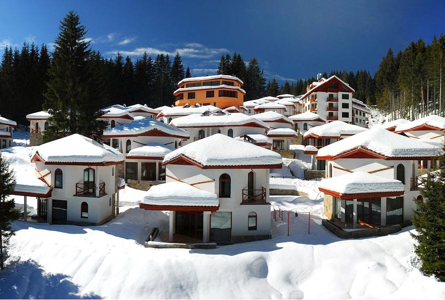 Ski Chalets in Pamporovo Village einen erschwinglichen Urlaub für Familien oder Gruppen