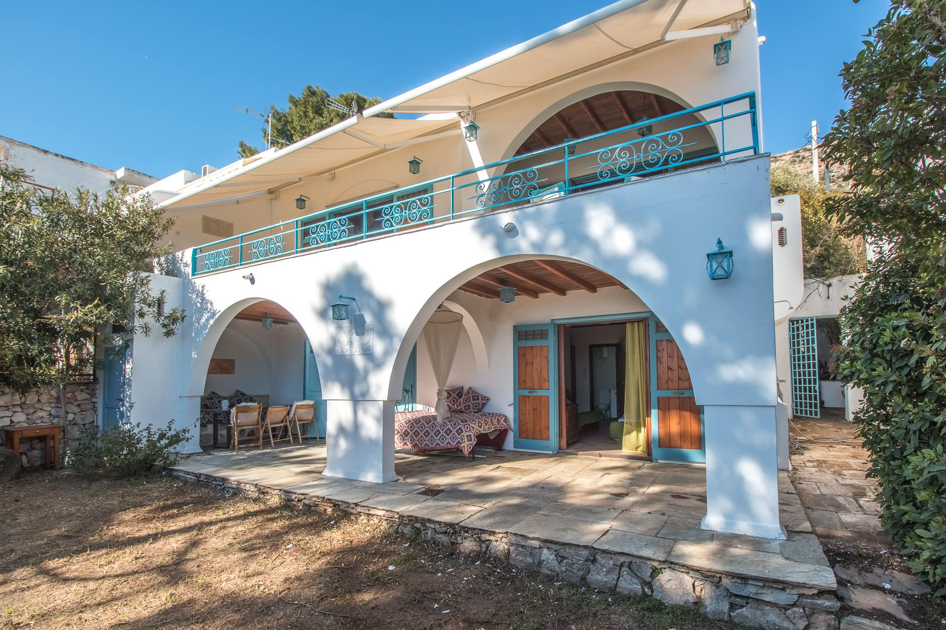 Holiday house Meerblick Authentische griechische Villa Althea, 200 m vom Strand entfernt (2471743), Agios Dimitrios, , Central Greece, Greece, picture 2