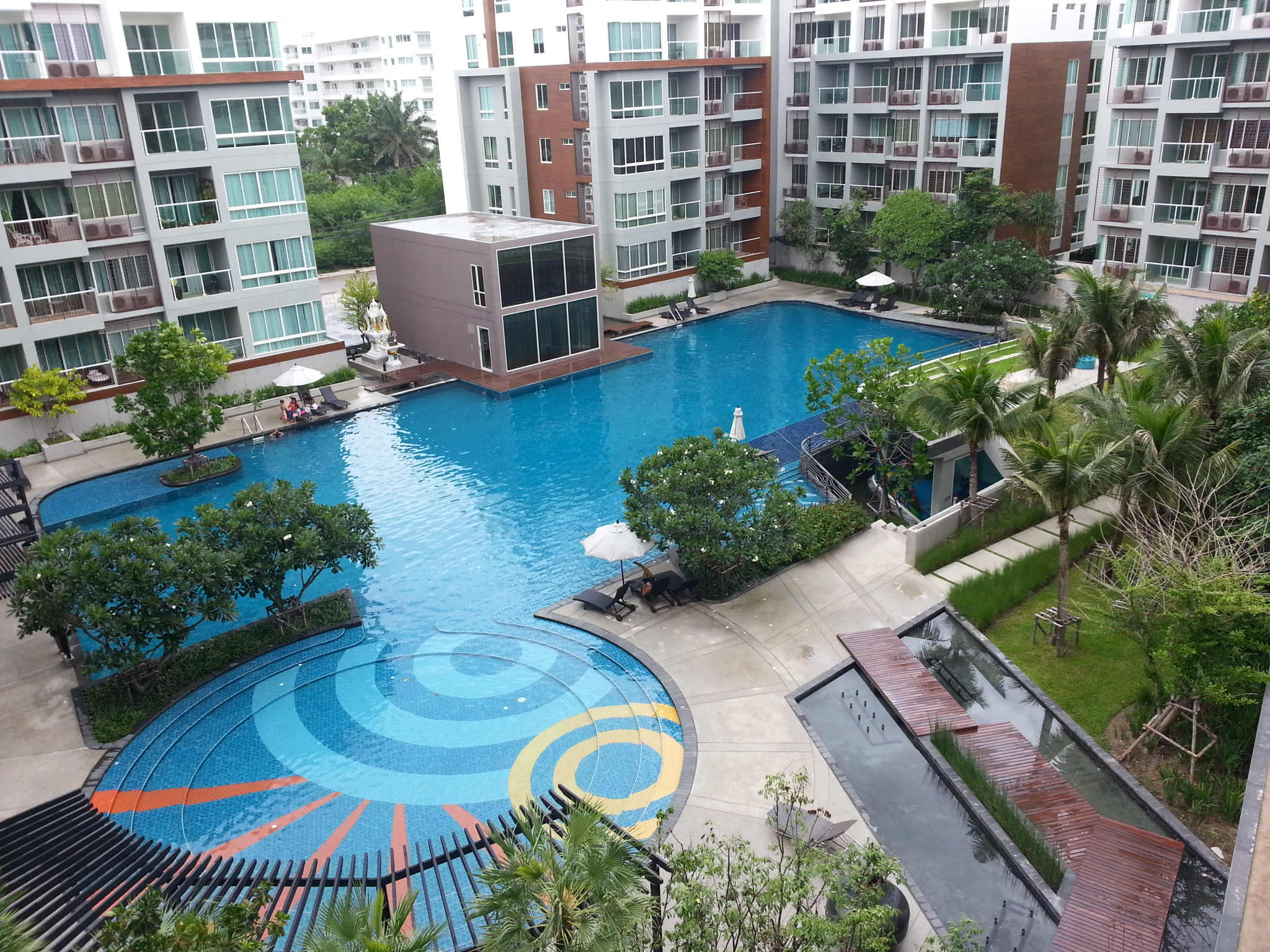 The Seacraze Hua Hin 1br 52m2 Poolview
