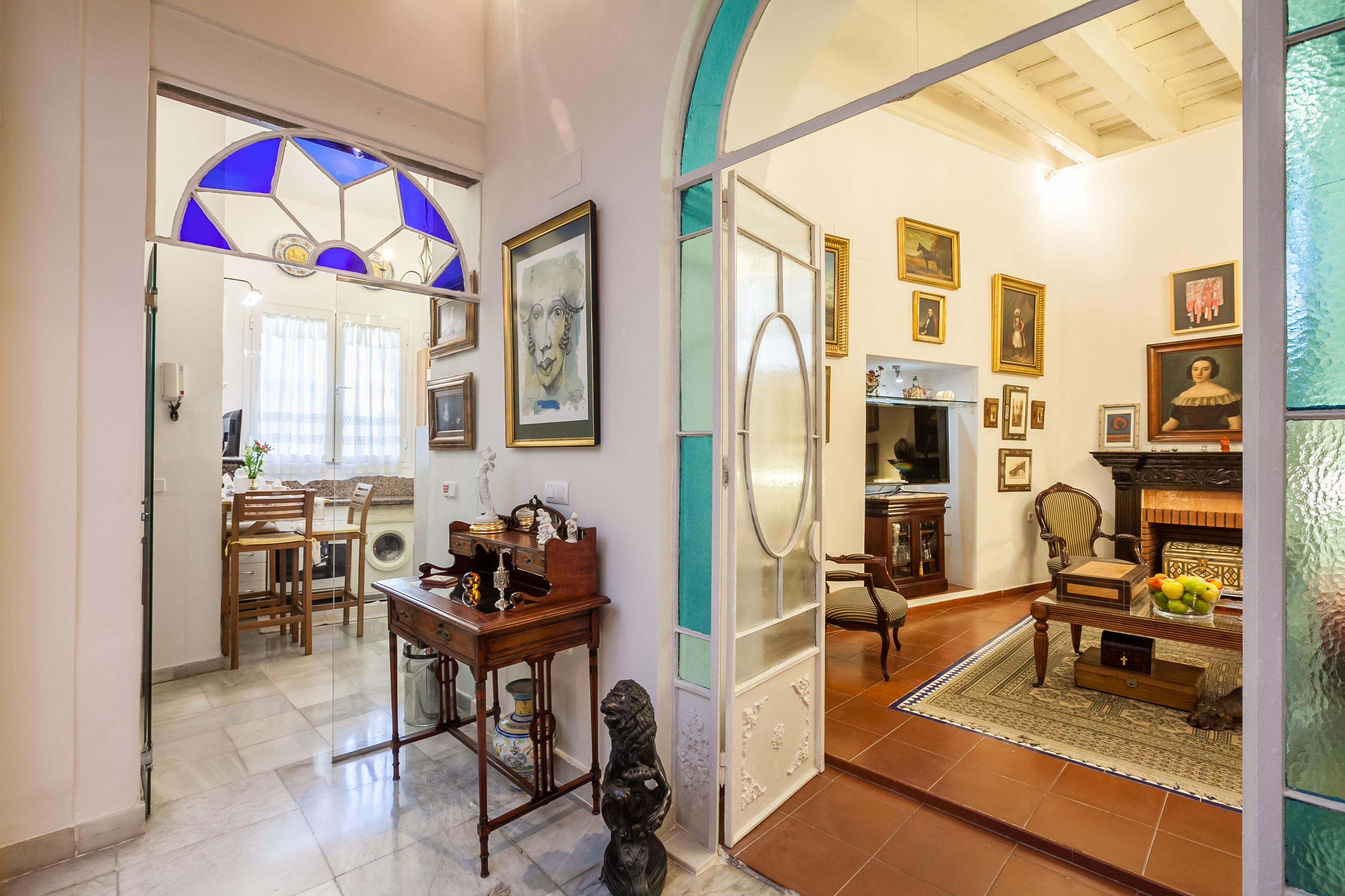 Ferienhaus Herrenhaus im Zentrum von Sevilla, neben den rmischen Herkules-sulen Wifi, A (2628854), Sevilla, Sevilla, Andalusien, Spanien, Bild 13