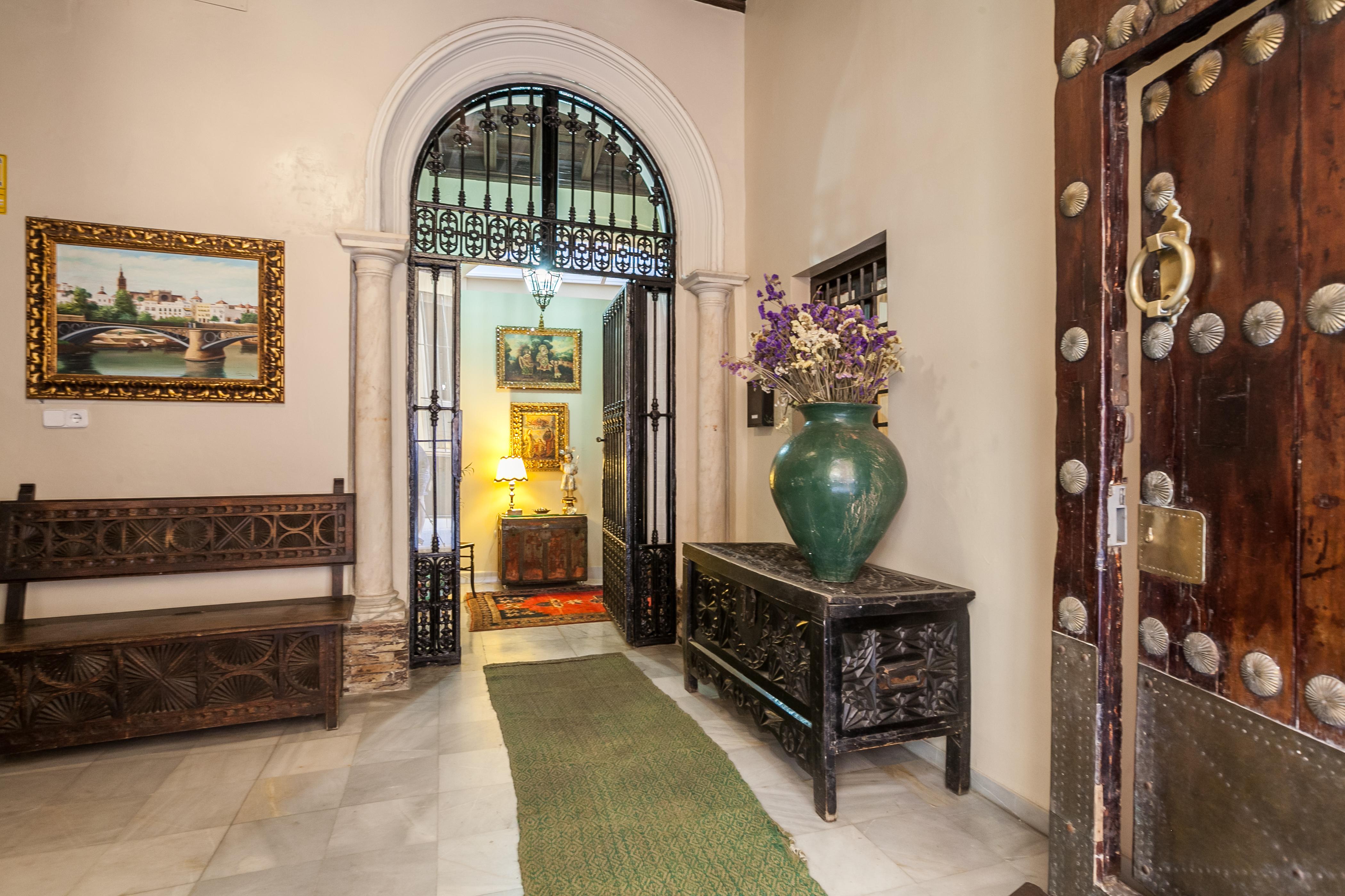Ferienhaus Herrenhaus im Zentrum von Sevilla, neben den rmischen Herkules-sulen Wifi, A (2628854), Sevilla, Sevilla, Andalusien, Spanien, Bild 2