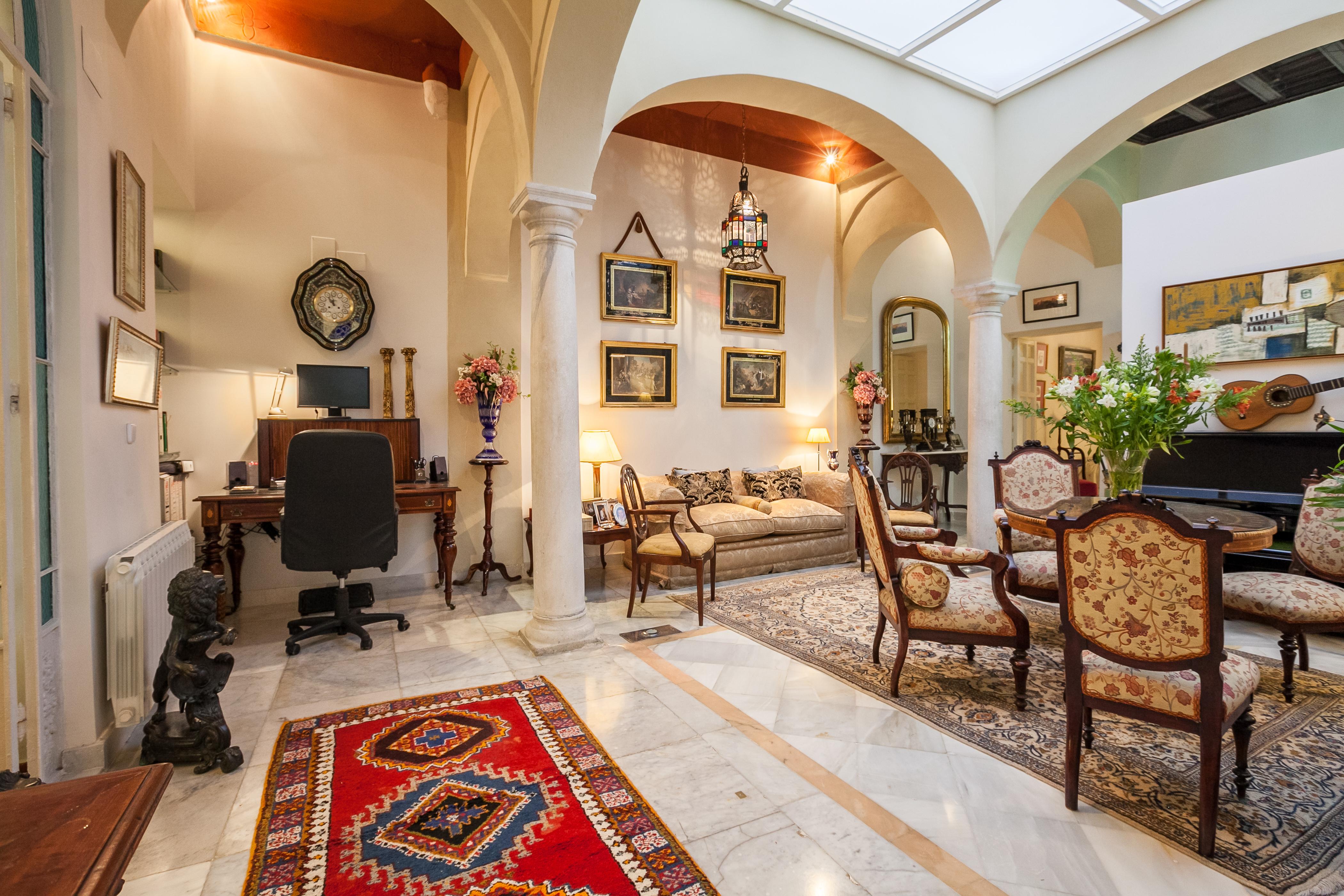 Ferienhaus Herrenhaus im Zentrum von Sevilla, neben den rmischen Herkules-sulen Wifi, A (2628854), Sevilla, Sevilla, Andalusien, Spanien, Bild 9