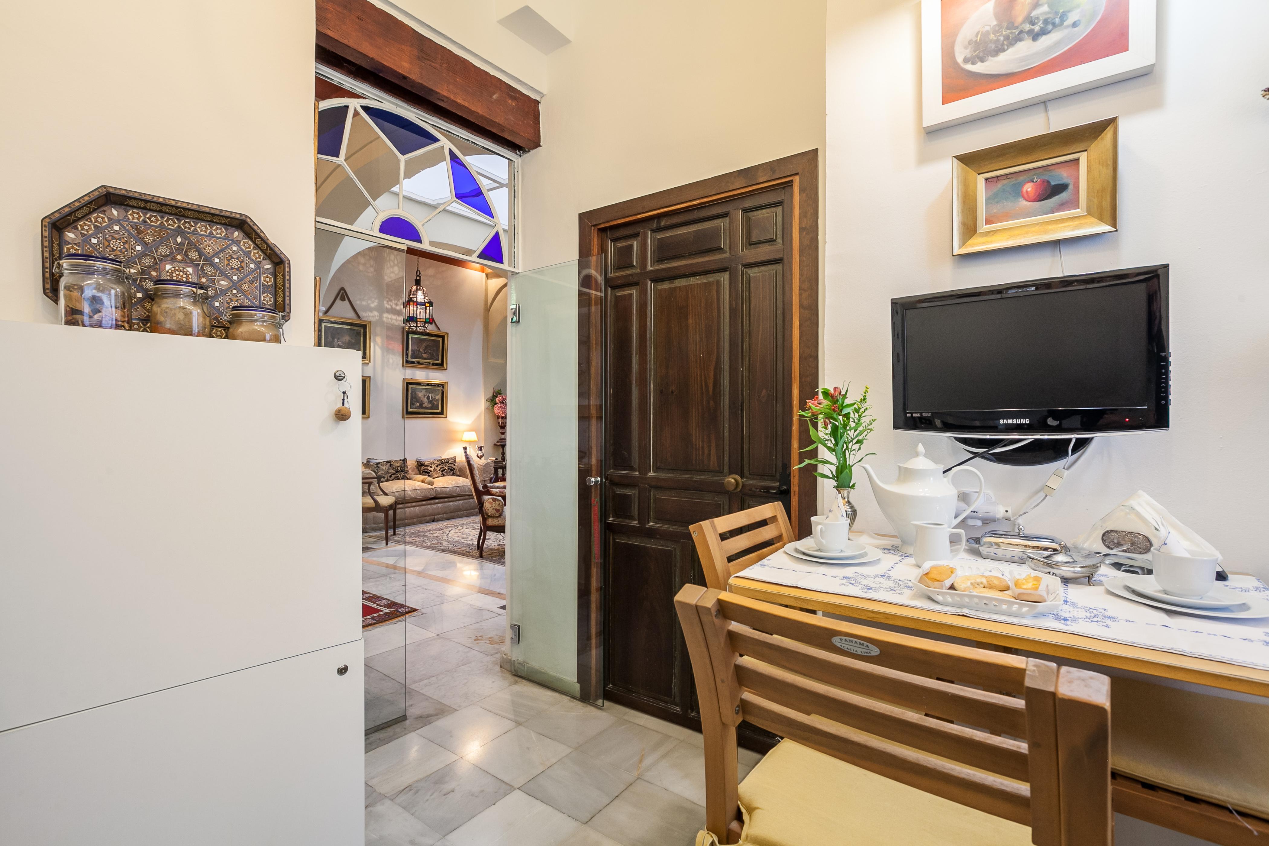 Ferienhaus Herrenhaus im Zentrum von Sevilla, neben den rmischen Herkules-sulen Wifi, A (2628854), Sevilla, Sevilla, Andalusien, Spanien, Bild 20