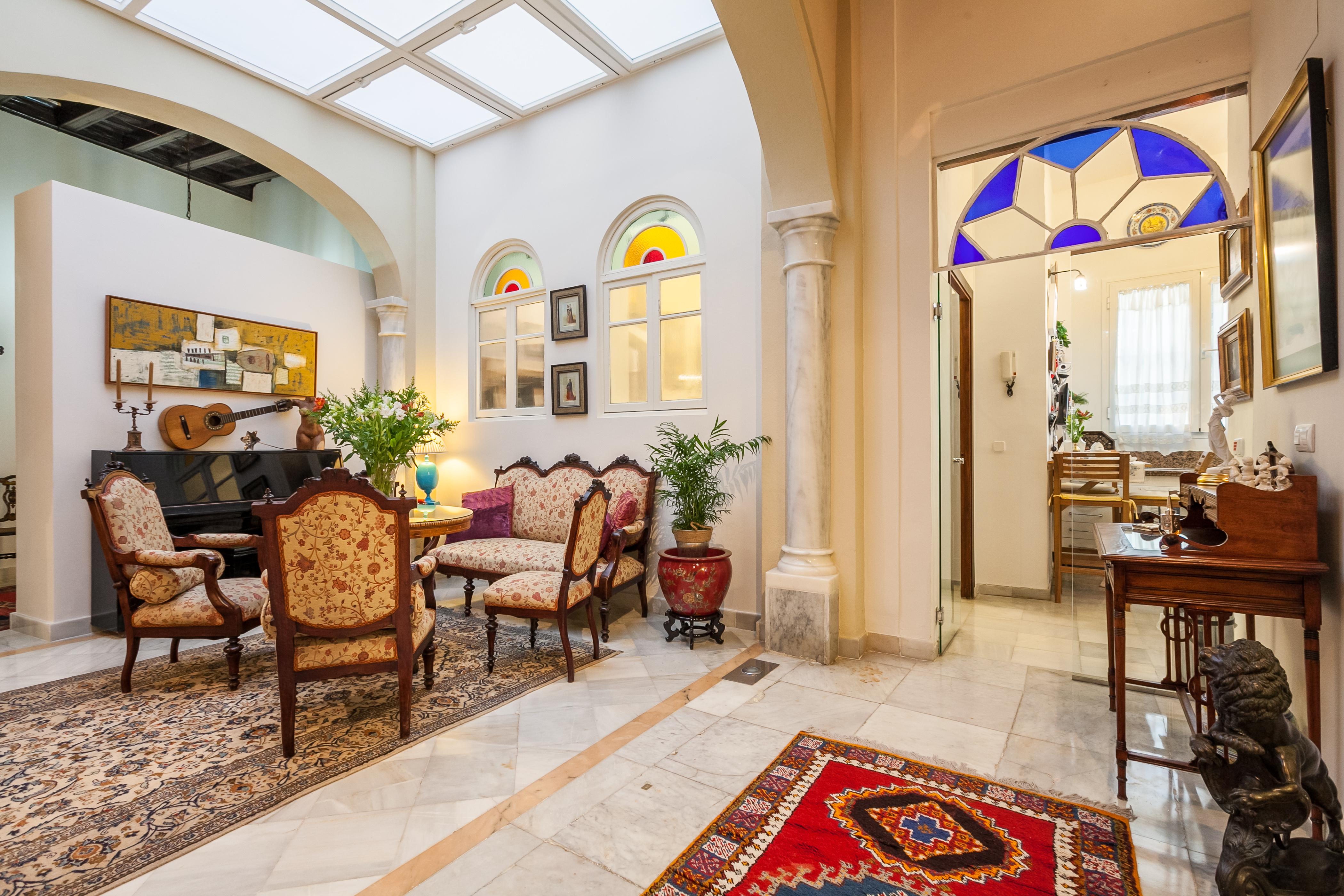 Ferienhaus Herrenhaus im Zentrum von Sevilla, neben den rmischen Herkules-sulen Wifi, A (2628854), Sevilla, Sevilla, Andalusien, Spanien, Bild 11