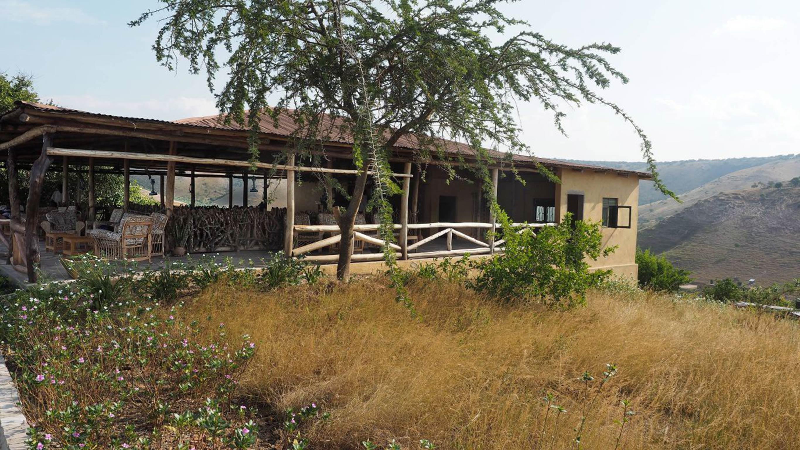 Entspannen Sie sich nach einer ganztgigen Safari im Mburo National Park im Eagles Nest