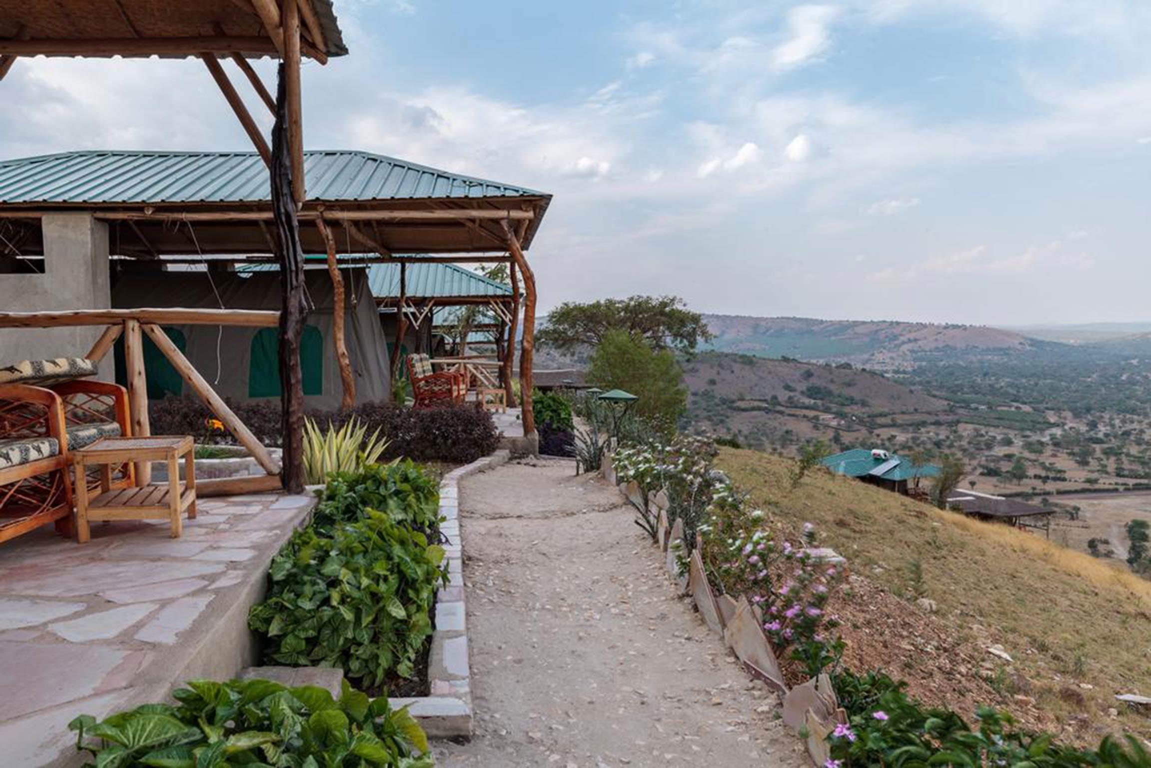 Genieen Sie eine tolle Zeit im Eagles Nest direkt am Rande des Lake Mburo National Park