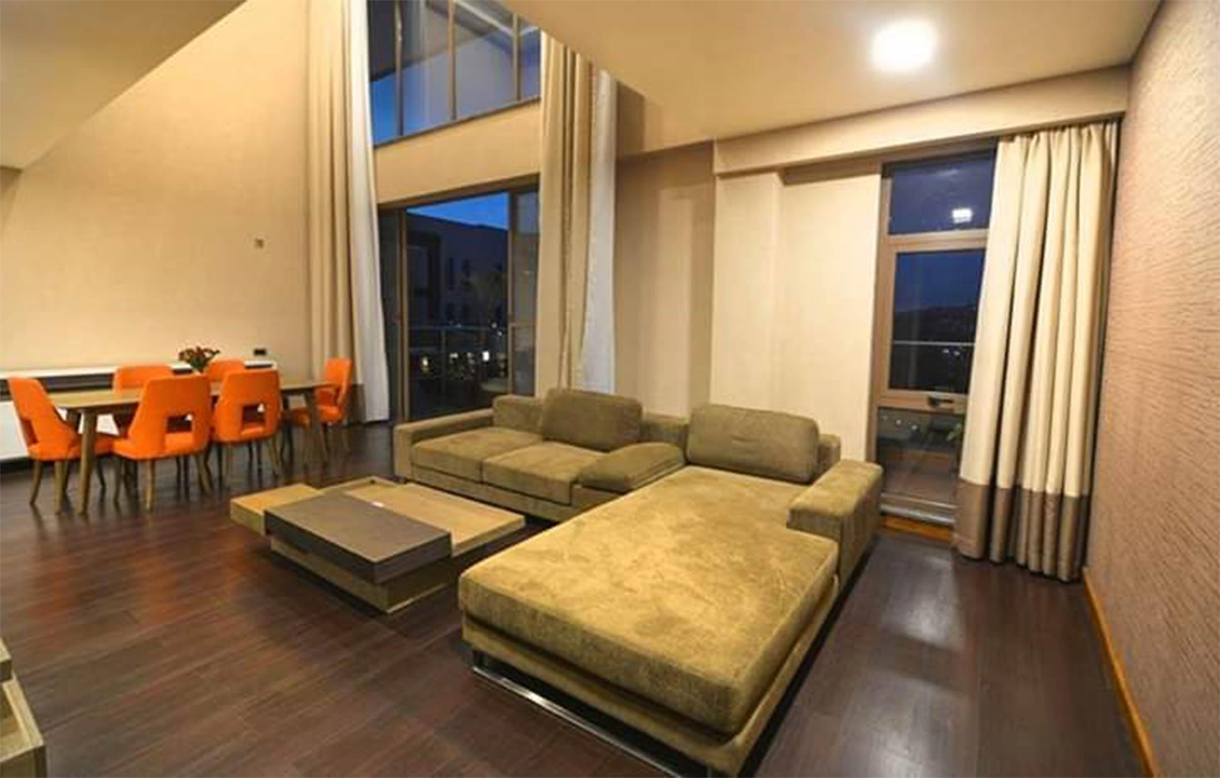 Entspannen Sie sich und genieen Sie die groartigen Annehmlichkeiten der 243 Apartments