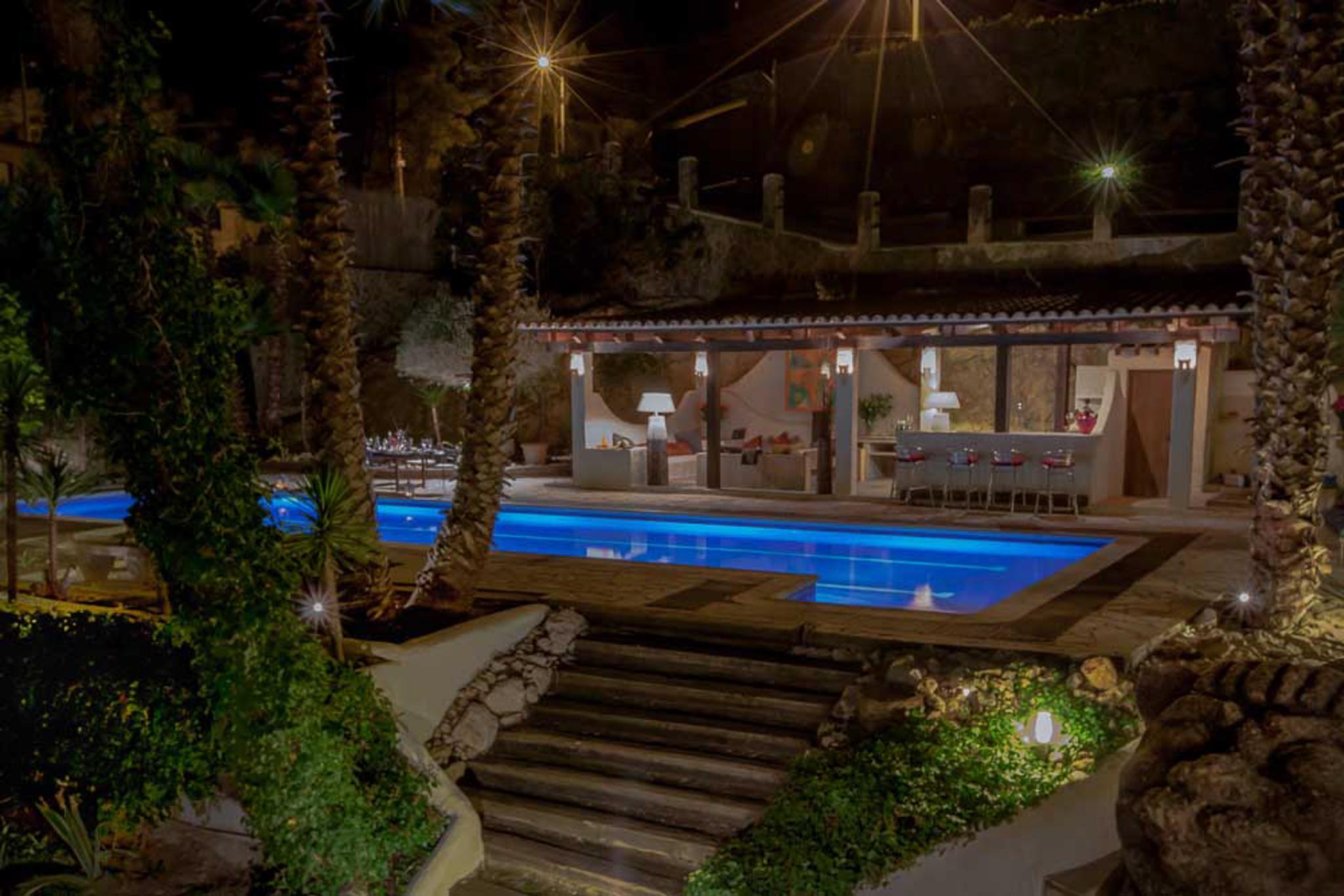 Ferienhaus Villa Palmera, Paradies in der Nhe von Barcelona, luxurise Villa fr 22 Personen (2379177), Olivella, Costa del Garraf, Katalonien, Spanien, Bild 17