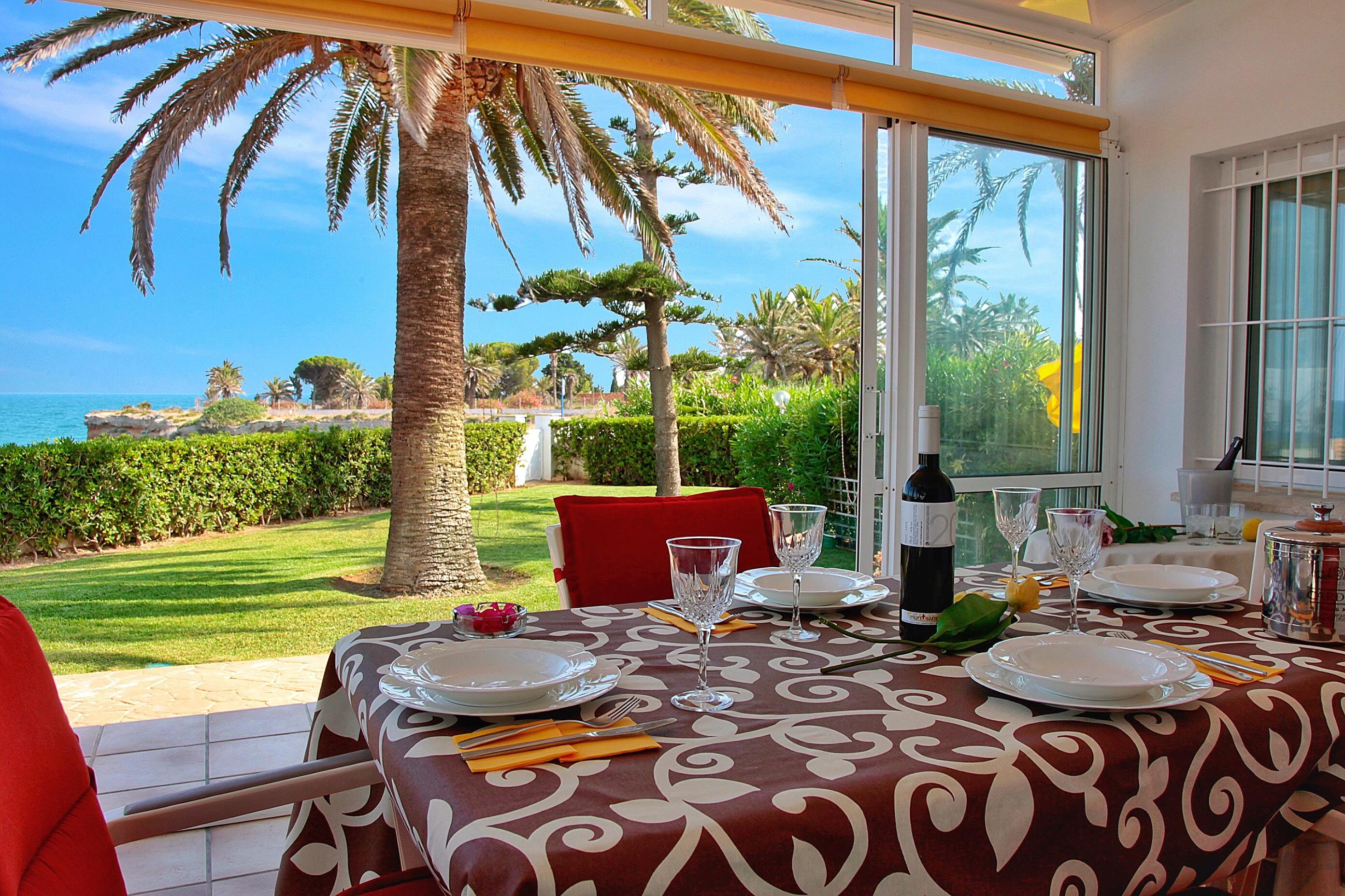 Haus direkt am Meer mit Wi-fi Ferienhaus  Costa del Azahar