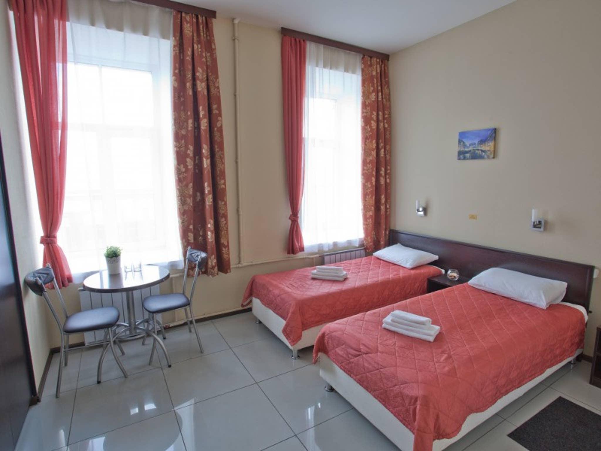 Zimmer mit zwei getrennten Betten Hotel Bridge Inn