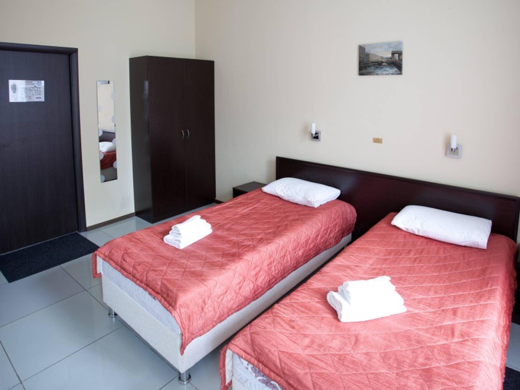 Doppelzimmer mit Doppelbett Hotel Bridge Inn