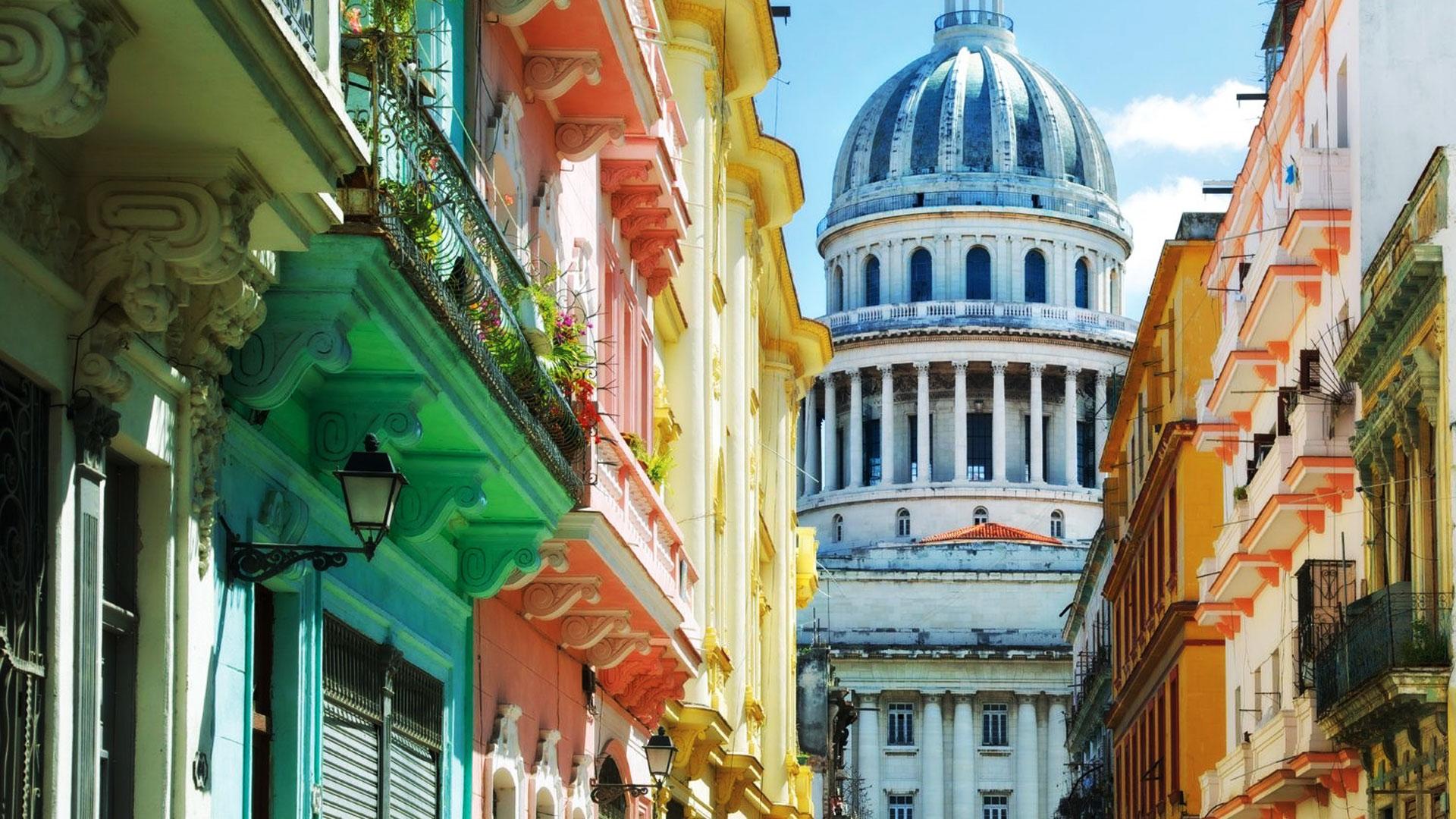 Gemutliche Wohnung in der Innenstadt, 2 Blocks zum Ferienwohnung in Kuba