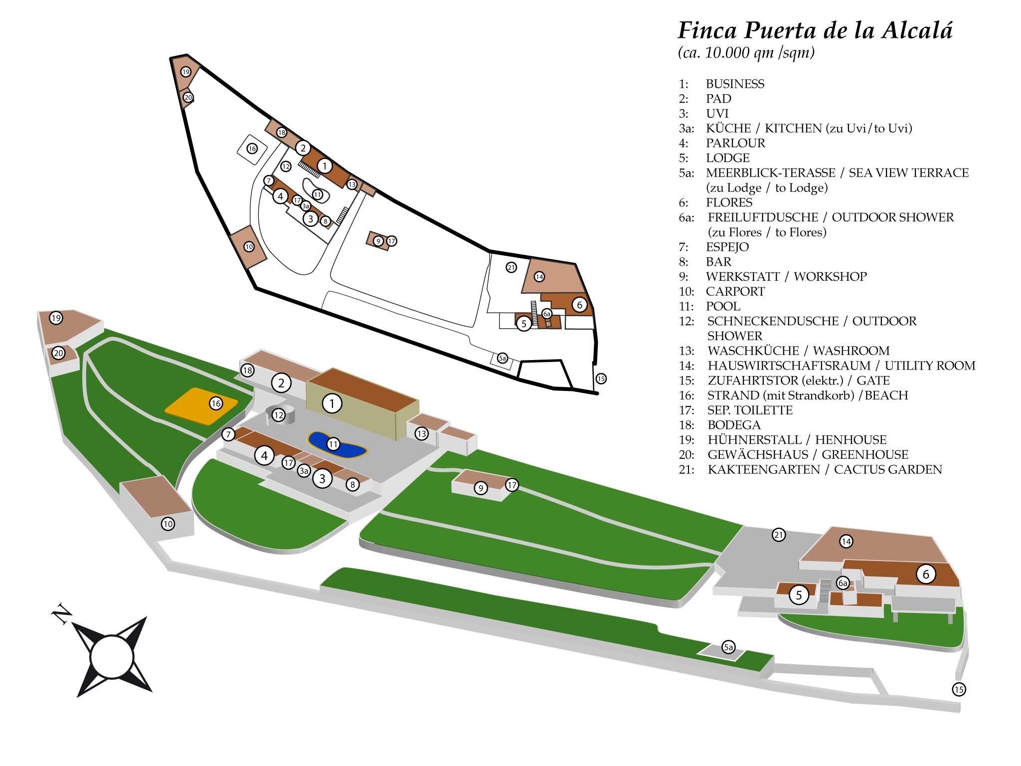 Maison de vacances Finca La Puerta de Alcalá ist eine privat geführte und gut gepflegte Ferienfinca (2379443), Alcala, Ténérife, Iles Canaries, Espagne, image 2