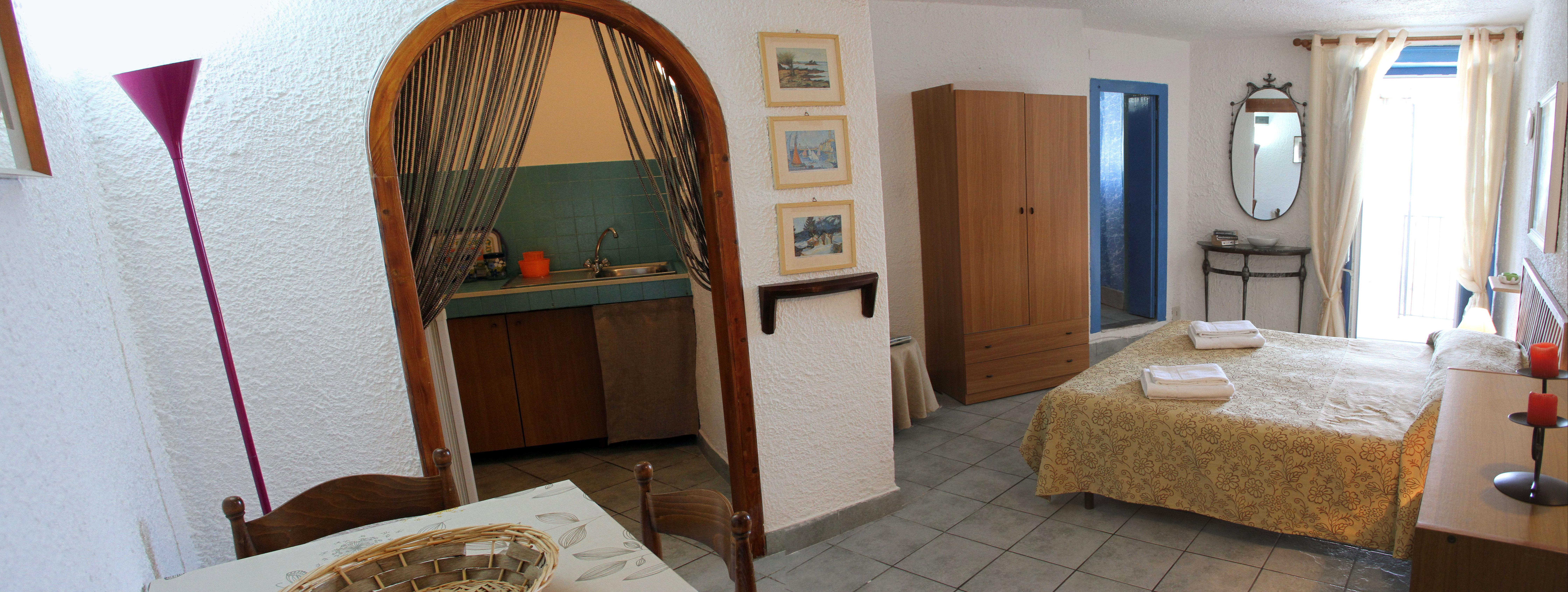 Appartement de vacances Ein charmantes Studio-apartment mit Terrasse und Blick auf das Meer (2124683), Cefalù, Palermo, Sicile, Italie, image 4
