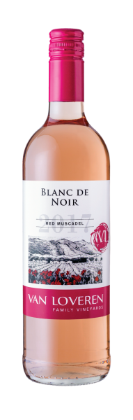 Van Loveren 2018er Blanc de Noir - Red Muscadel Blush