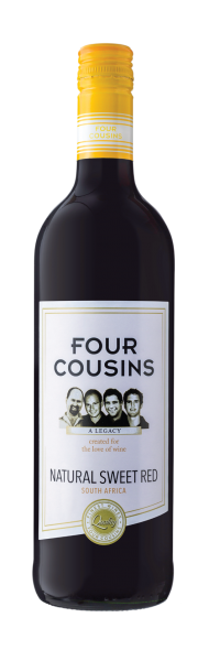 Van Loveren Four Cousins Natural Sweet Red