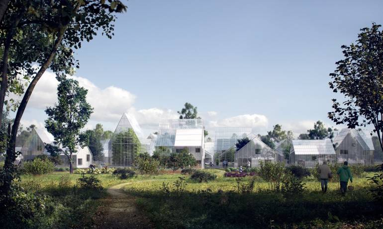 Zukunft: Autonomes Wohnviertel