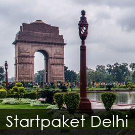 Startpaket Delhi Indien