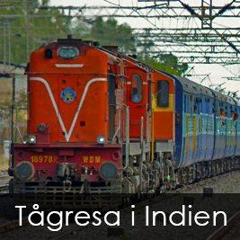 Tågresa i Indien