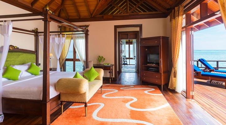 Olhuveli Beach Spa Resort 4 Presidential Water Pool 2 Bedroom Suite Extreme All Inclusive
