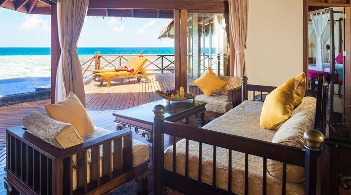 Sun Aqua Vilu Reef Resort Spa 5 Grand Reef Water Pool 2 Bedroom Suite Extreme All Inclusive