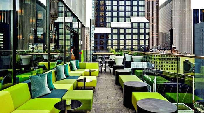 Citizenm design hotel 4 times square new york usa for Design hotel usa