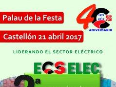 La Segunda Edición de Ecselec, Exposición Eléctrica de Castellón, este viernes 21 de abril