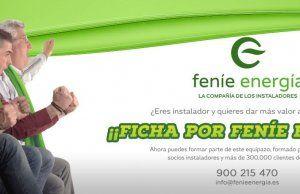 Feníe Energía lanza una Ampliación de Capital para el colectivo de instaladores