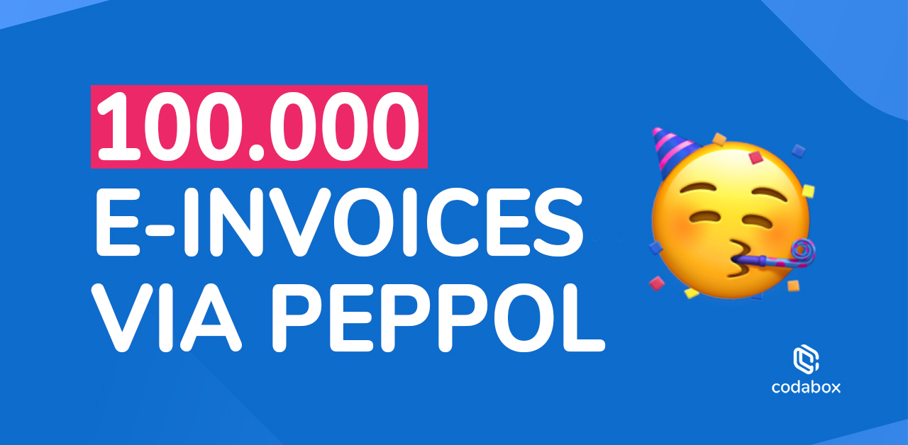 Un cap a été franchi : 6000 entreprises belges ont reçu plus de 100.000 factures digitales au cours de ces derniers mois !