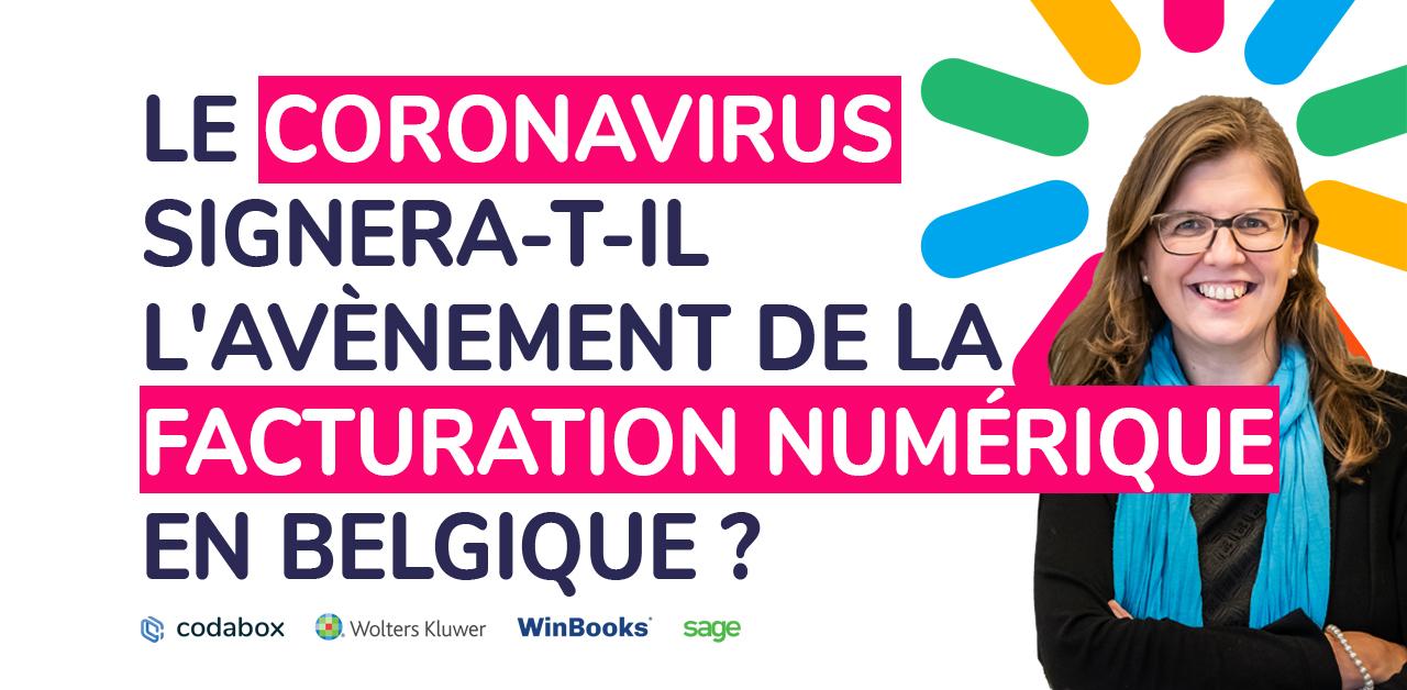 La crise du coronavirus signera-t-elle l'avènement de la facturation numérique en Belgique ?