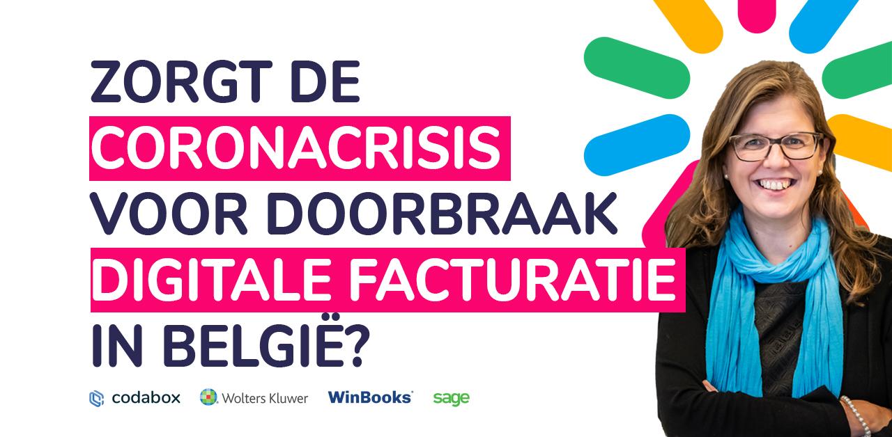 Zorgt de coronacrisis voor de doorbraak van digitale facturatie in België?