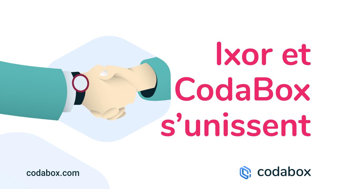 Ixor et CodaBox s'unissent pour rendre la facturation électronique accessible à toutes les entreprises en Belgique