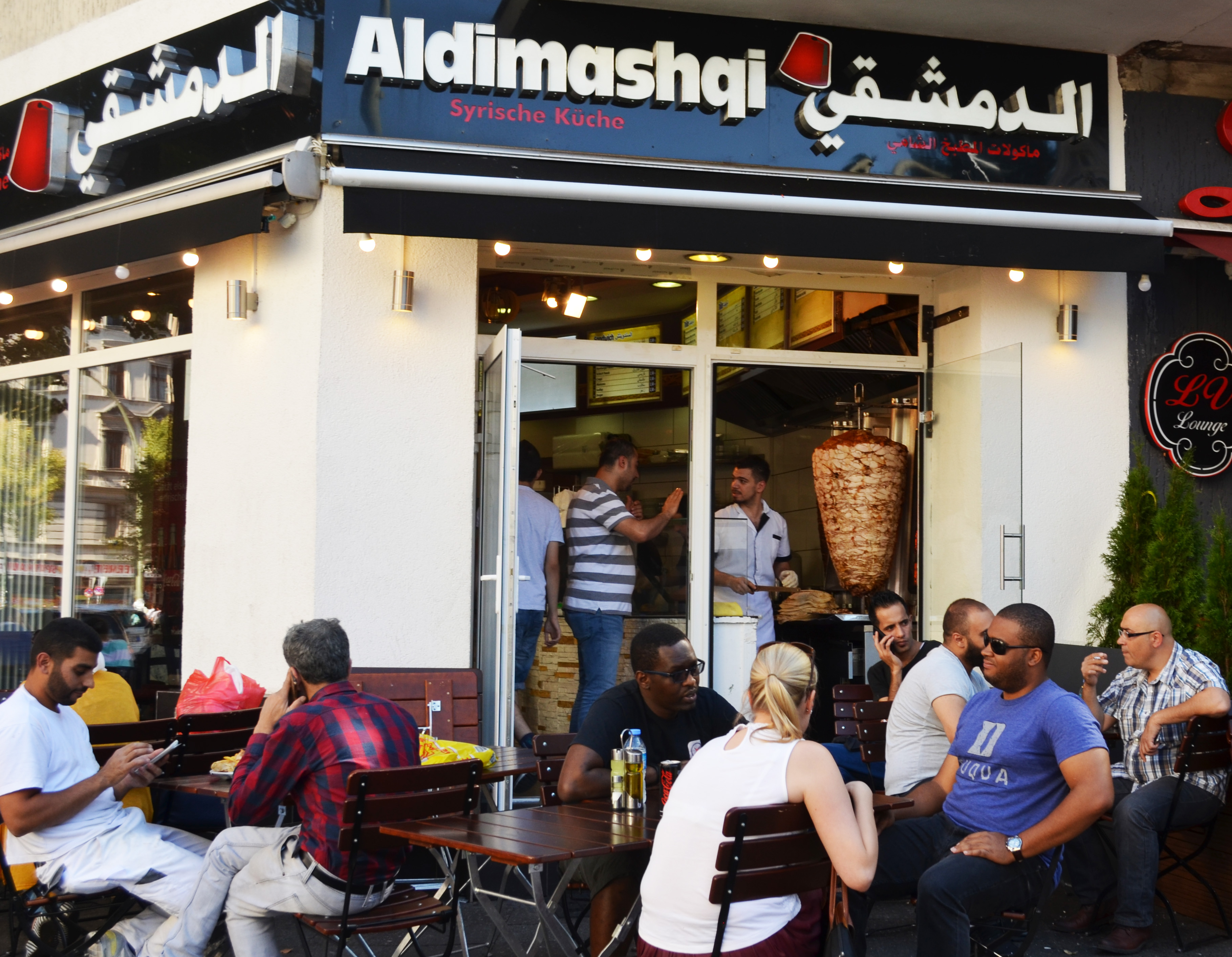 sonnenallee berlins sonne syriens islamische zeitung. Black Bedroom Furniture Sets. Home Design Ideas
