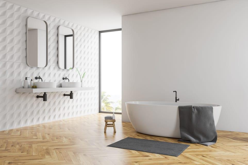 parquet salle de bains