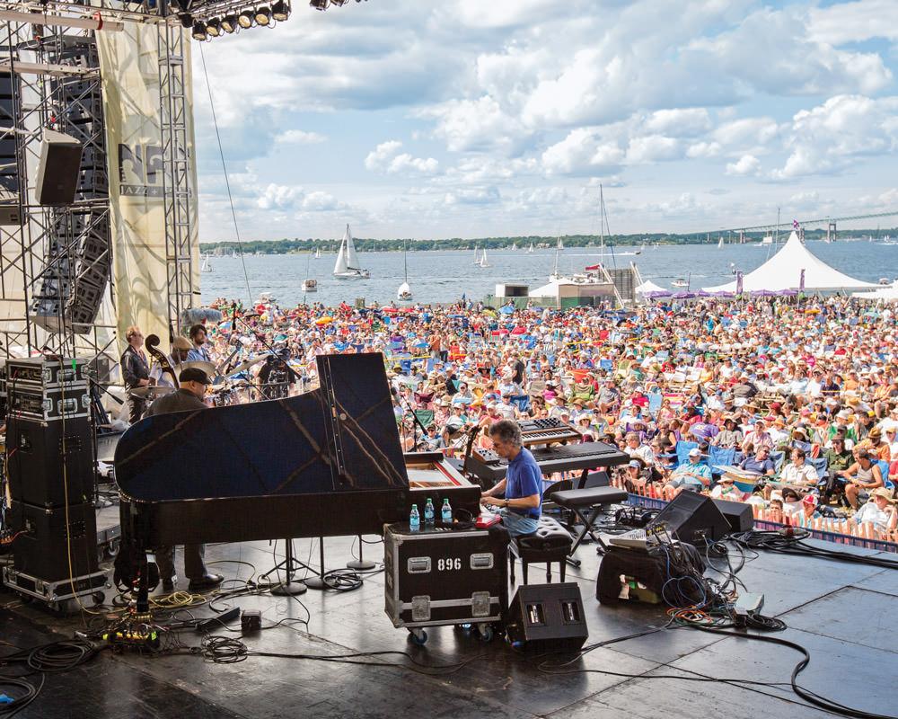 Newport jazz festival Wynton