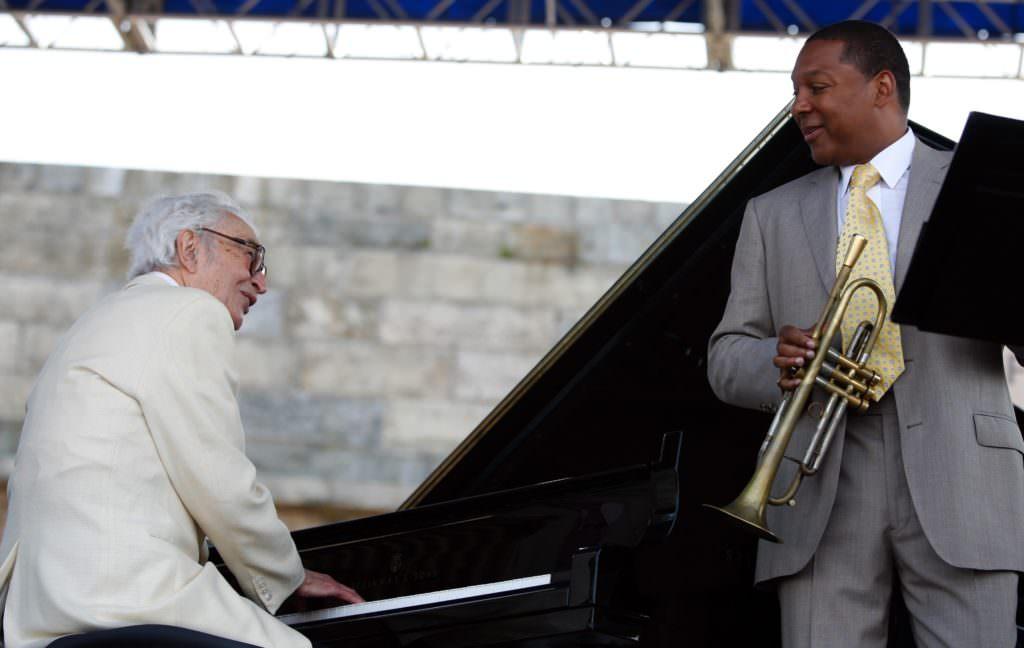 Newport jazz festival Wynton Marsalis Dave Brubeck