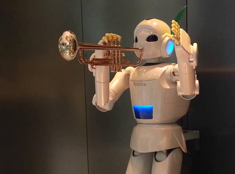 Роботы научились играть джаз