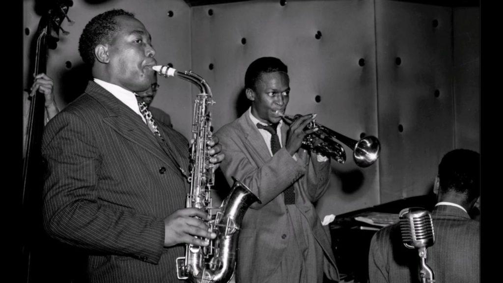 Майлс Дэвис (Miles Davis) и Чарли Паркер (Charlie Parker)