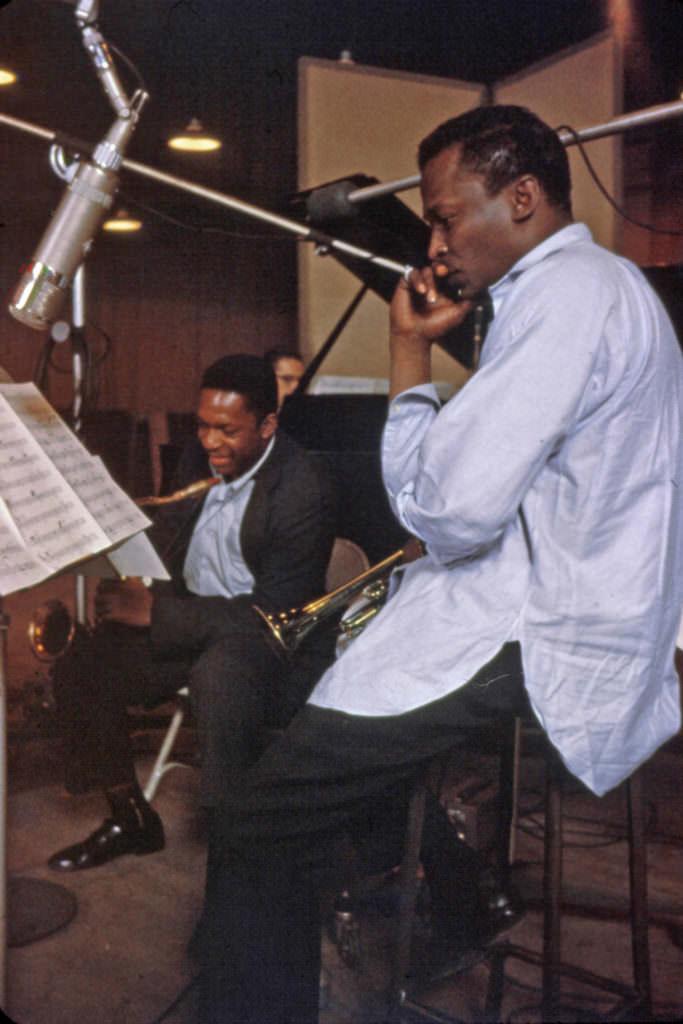 Miles Davis Майлс Дэвис Джон Колтрейн John Coltrane jazzpeople