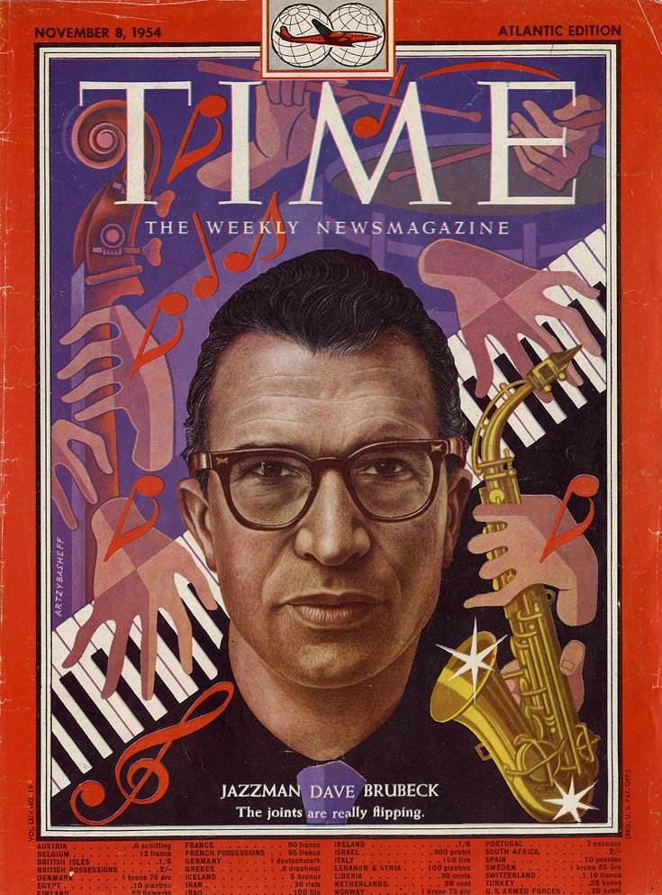 Дэйв Брубек Dave Brubeck Time JazzPeople