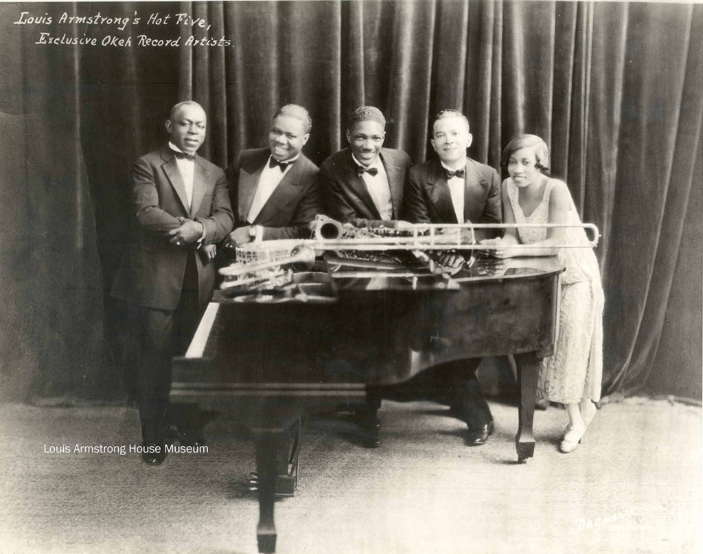 Hot Five Louis Armstrong JazzPeople